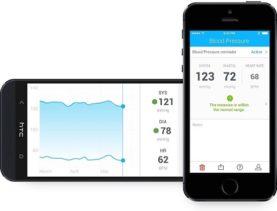 Withings 70027901 Kabelloses Blutdruckmessgerät Apple
